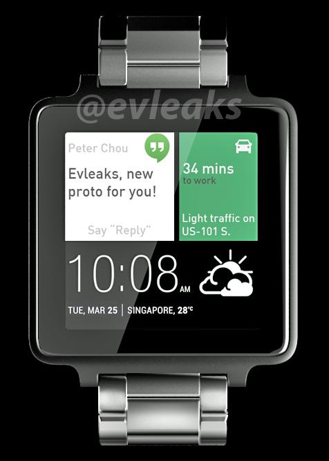 Ist das die neue HTC Smartwatch