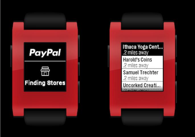 Paypal für Android Wear